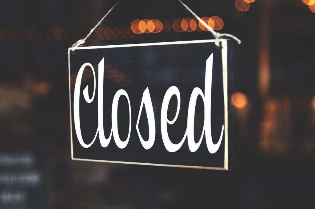 Keskus on suletud