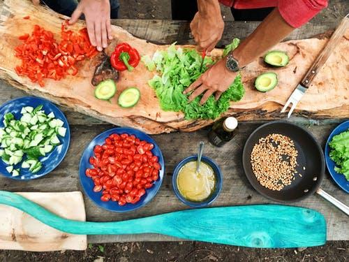 Tervisliku toidu valmistamise töötuba