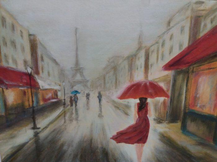 """Kunstiringi """"Pintslikeerutajad"""" näitus"""