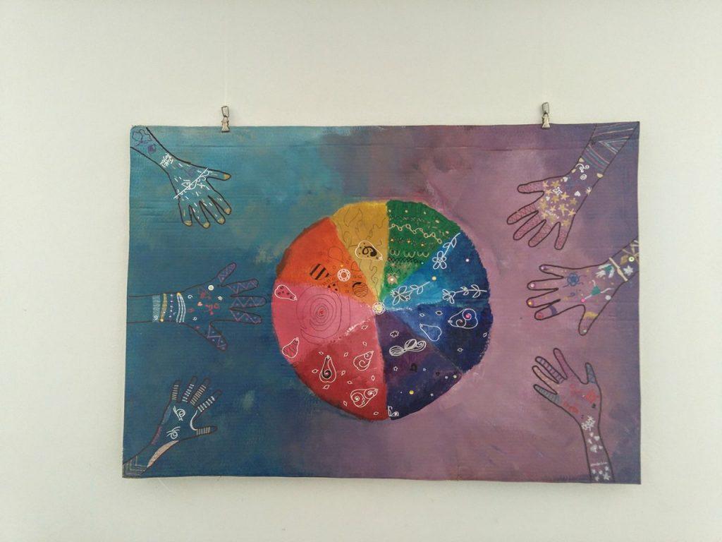 """Näitus """"Värvide võlumaailm"""""""