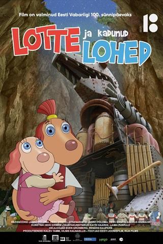 """Koolivahejal kinno! Ekraanil uus täispikk kogupere joonisfilm""""Lotte ja kadunud lohed"""""""