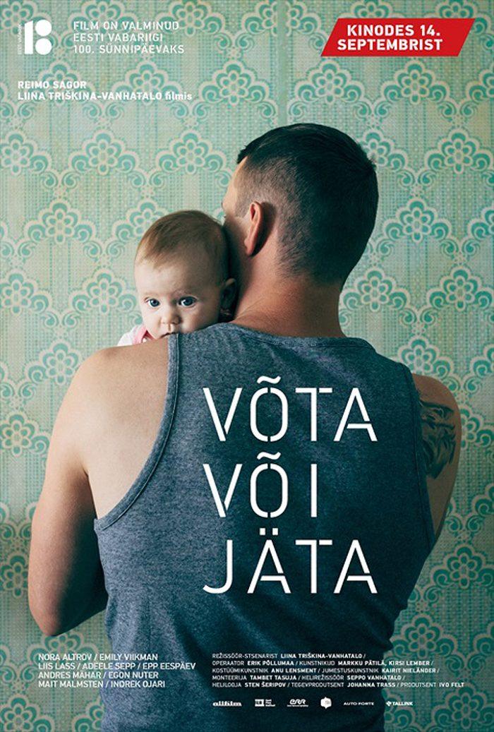 """Kinoekraanil Liina Trishkina-Vanhatalo mängufilm """"Võta või jäta"""""""