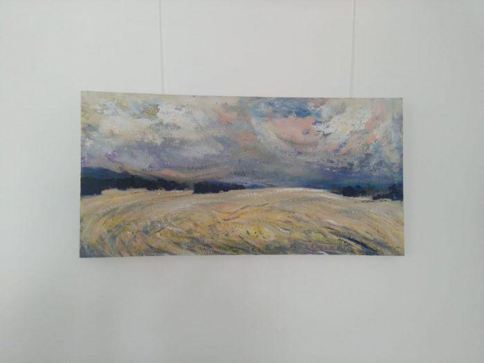 """Rein Meresaare maalid """"Vee ja õhu puudutus"""""""