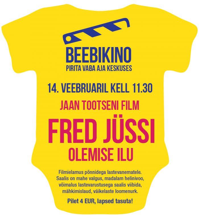 Beebikinos Jaan Tootseni dokumentaalfilm Fred Jüssi. Olemise ilu