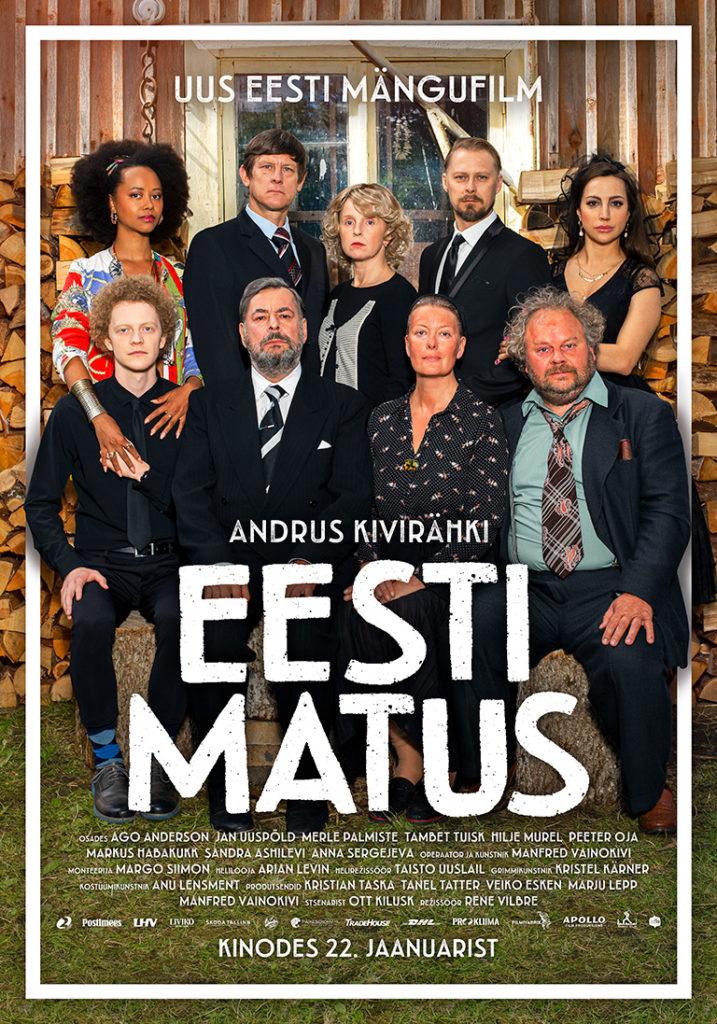 """Hooaja esimene kinoõhtu. Ekraanil mängufilm """"Eesti matus"""""""